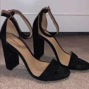 Women back heel pumps